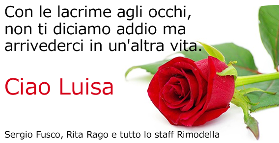 Ciao Luisa