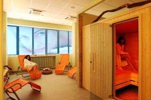 Sauna e relax nel centro Rimodella